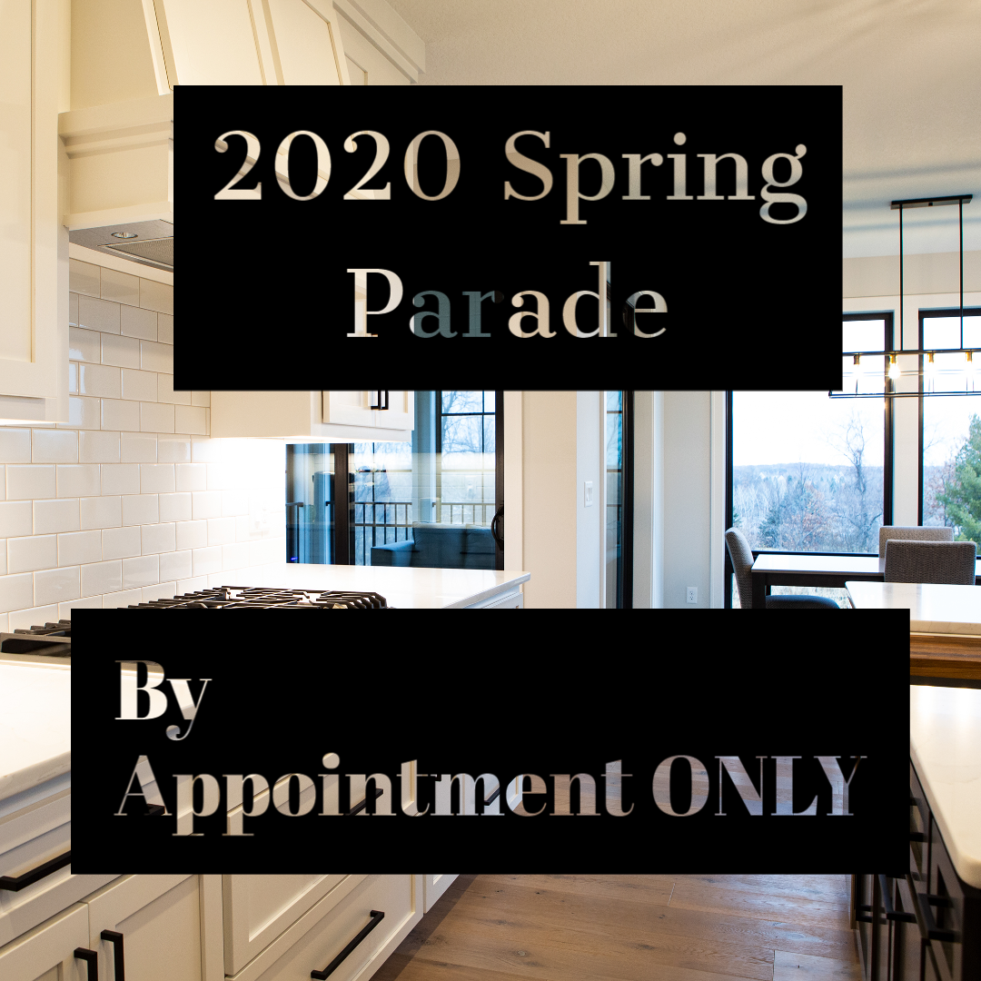 2020 Spring Parade Appointments