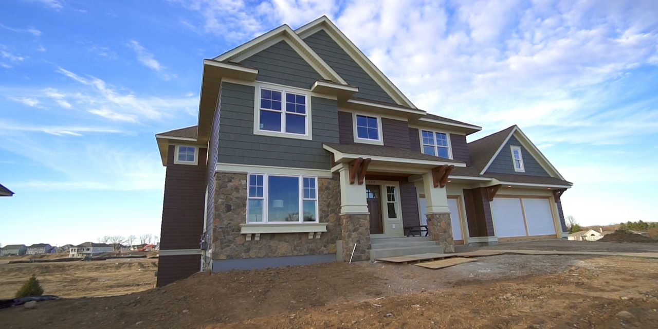 Tour the new Derrick Custom Home in Woodbury